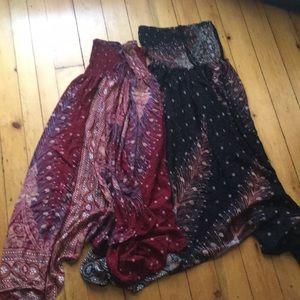 Festival hippie halter dresses